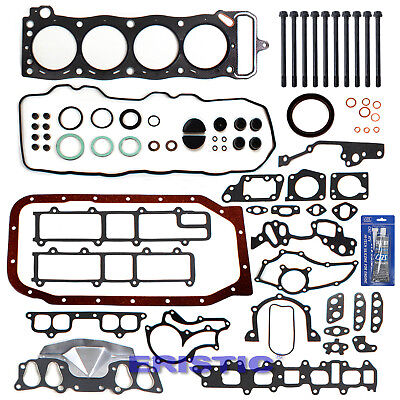 Used, 22R 22RE 22REC Toyota 2.4L Pickup Engine Full Gasket Set+Bolts+RTV Silicone Kit for sale  South El Monte