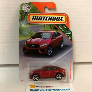 Mercedes-Benz GLE Coupe * New!! RED *  2019 Matchbox Case N
