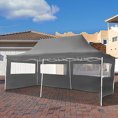 3x6m Faltpavillon Pavillon Klappzelt Gartenzelt Festzelt Partyzelt Faltzelt