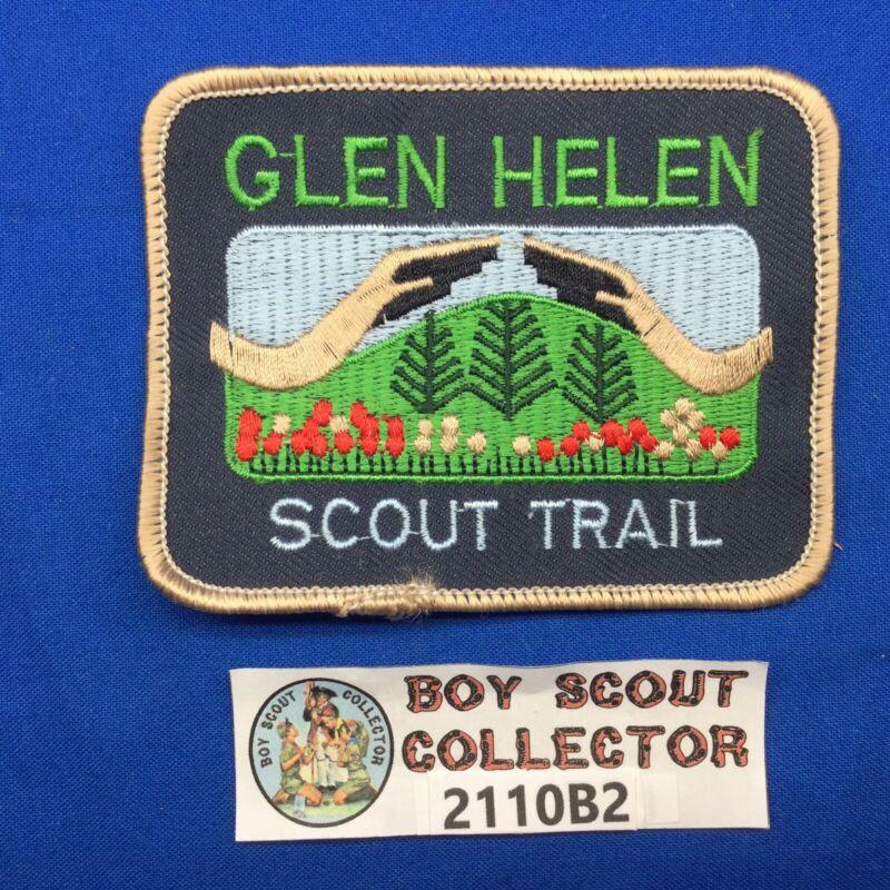 Boy Scout Glen Helen Scout Trail Patch