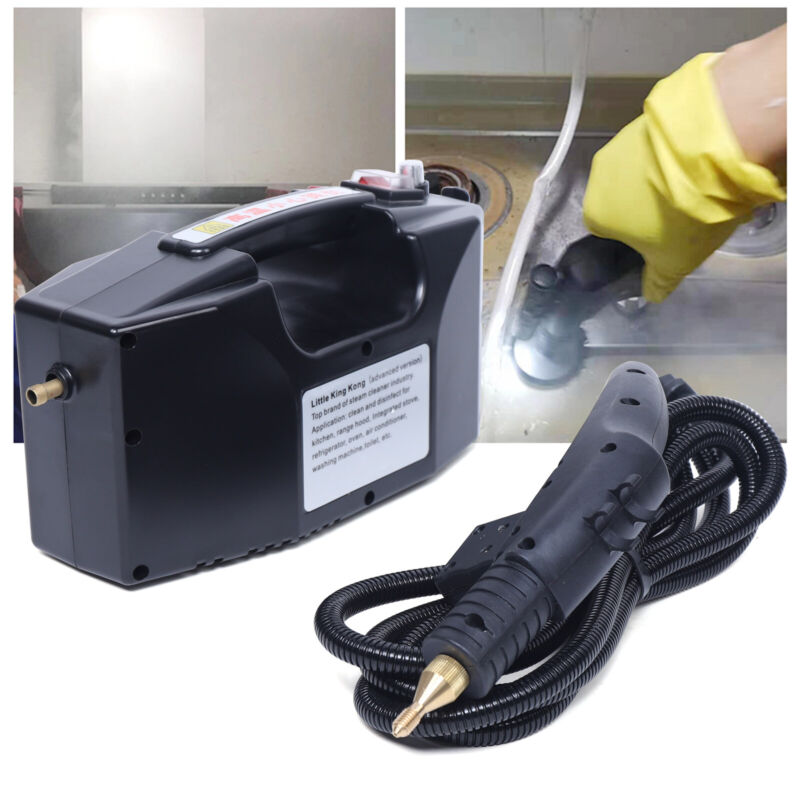 1600W Commercial High Temp Steam Cleaner High Pressure Cleaning Machine  110V