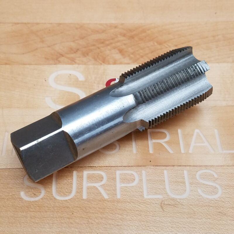 "1-5/8""-12UN H4 HSS 6-Flute Plug Hand Tap - USED"