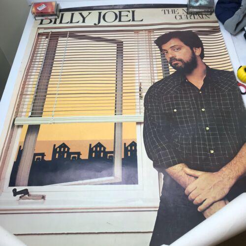 Vintage Billy Joel The Nylon Curtain Original Print 1982 Poster 33x48