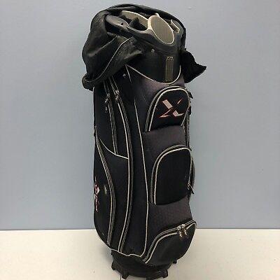 Tour Edge Exotics Extreme Cart 2 Golf Cart Bag Gray Black 15 Way Top NICE 508ced838e18a