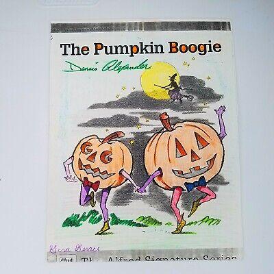 Halloween Sheet Music For Piano (Halloween The Pumpkin Boogie Sheet Music By Dennis Alexander Piano)