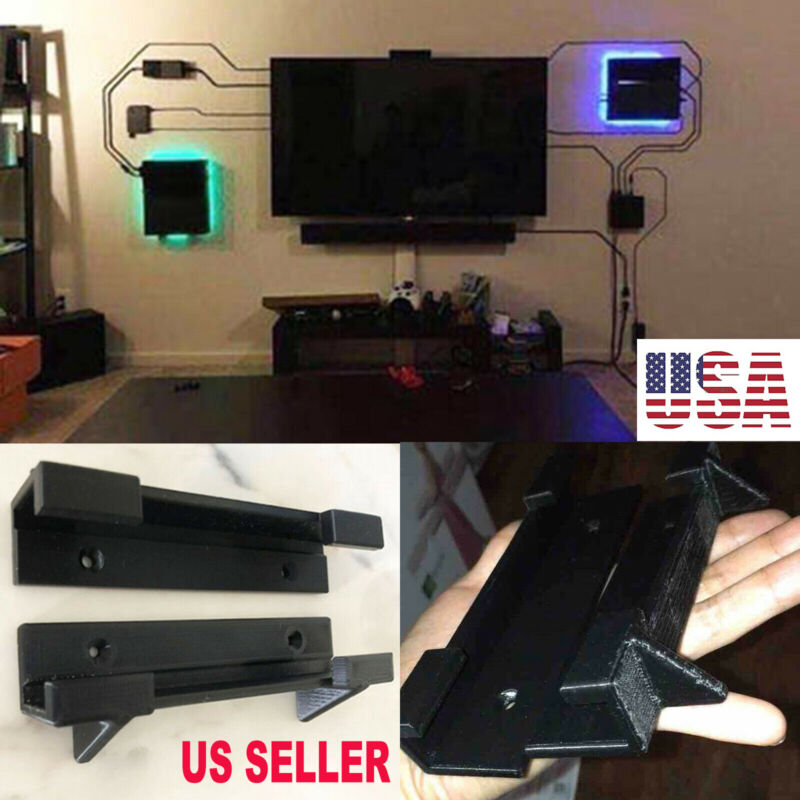 Durable Wall Mount Bracket Holder For PlayStation 4 PS4 Slim Pro Game Console#US