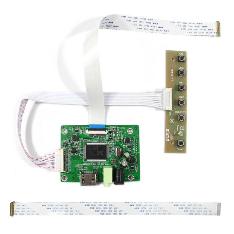 """HDMI LCD Controller Board For 11.6"""" 13.3"""" 14"""" 15.6"""" 1920x1080 EDP LCD Screen"""