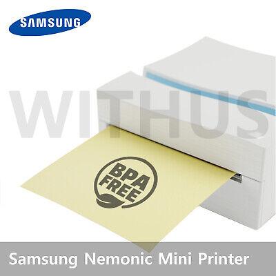 Samsung Nemonic Mini Printer MIP-101B for Android No Ink No Toner Sticky Memo