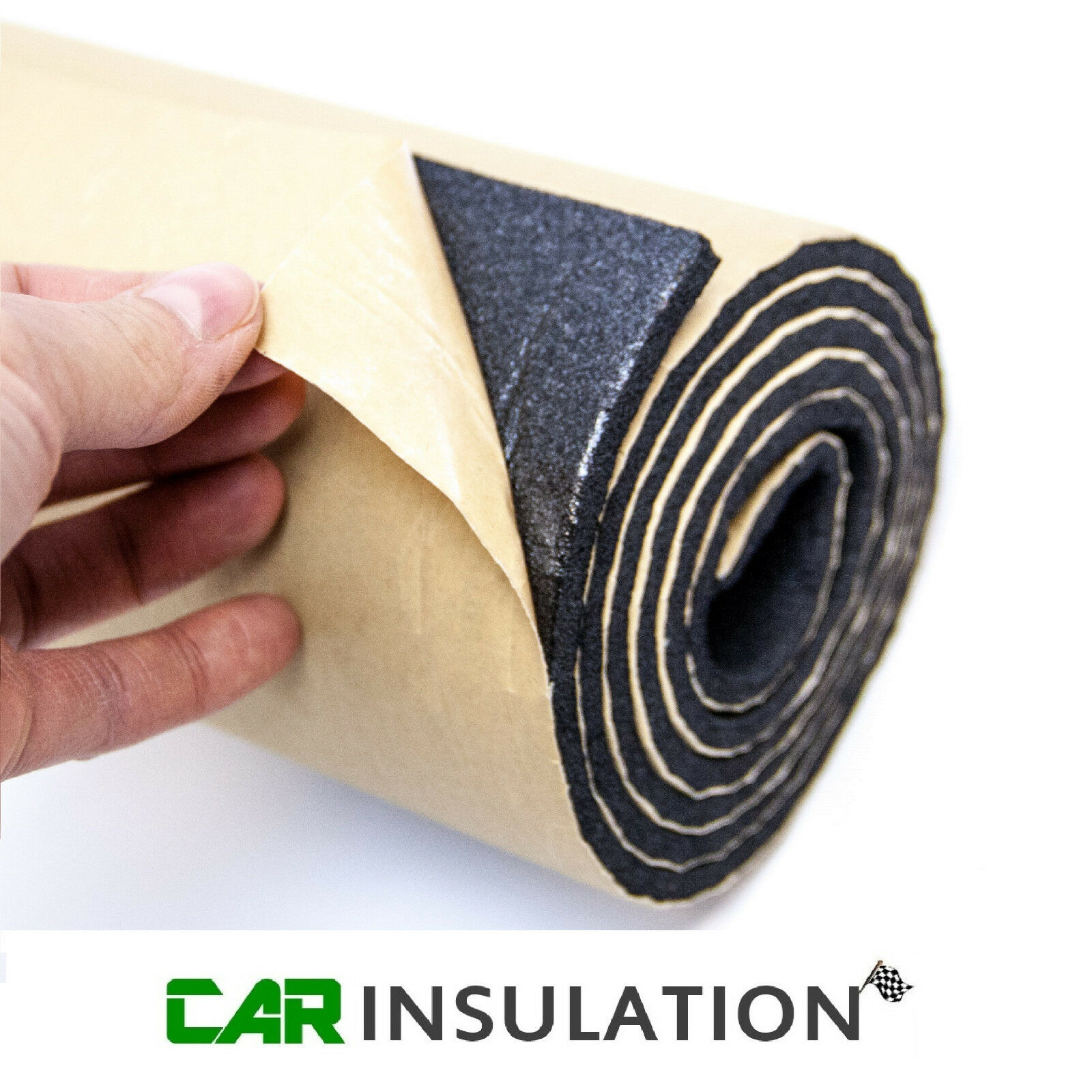 Car Parts - 3m 3mm Roll Car Sound Proofing Motorhome Van Insulation Closed Cell Foam