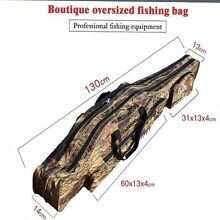 Fishing bag 130 cm  Two Layer  Fishing Tackle Rod. Multi-usage Rowville Knox Area Preview