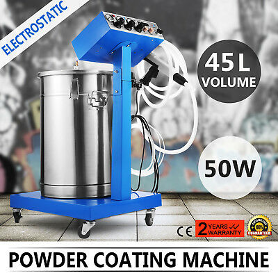Powder Coating System With Spraying Gun Wx-958 Electrostatic Machine Paint Spray