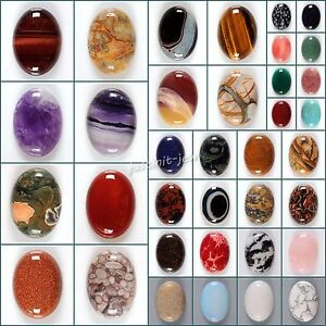 Wholesale-30mm-Oval-cabochon-CAB-flatback-semi-precious-gemstone-Save-in-bulk