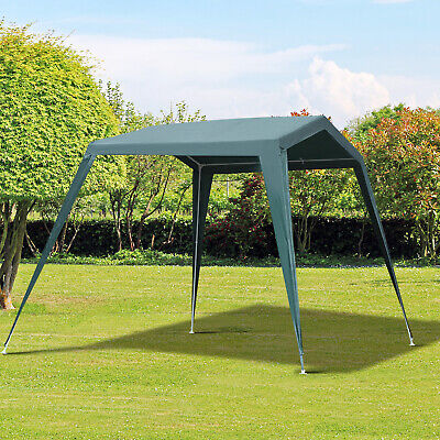 Outsunny Outdoor Gazebo Canopy Portable Party Tent Carport T