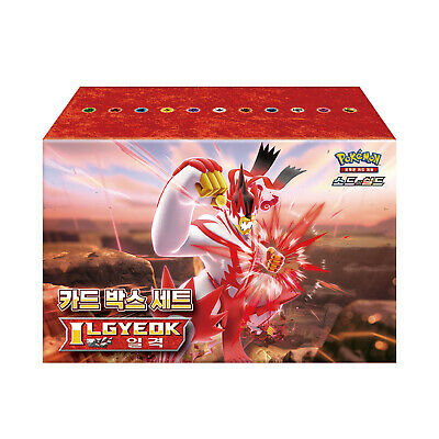"Pokemon Sword & Shield ""Card Box Set Single Strike"" Korean Ver."