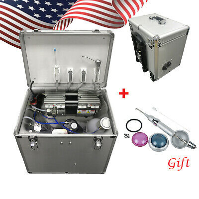 Ce Portable Dental Turbine Unit Air Compressor Suction System Triplex Syringe