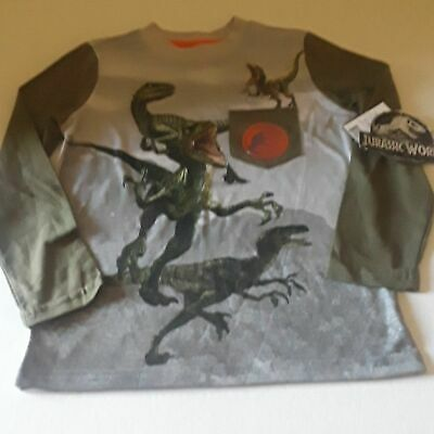 Jurassic World Boys Long Sleeve T Shirt XS