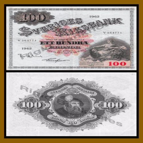 Sweden 100 Kronor, 1959-1963 P-48 Cir