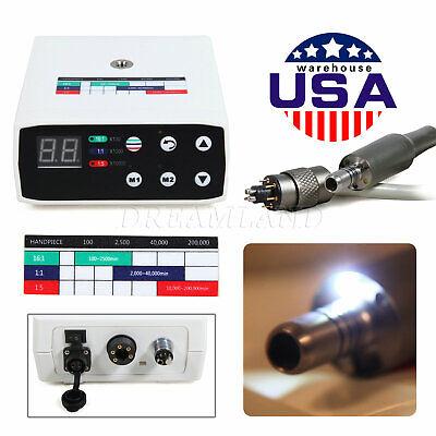 Us Dental Electric Led Micro Motor 1116115 Inner Spray Fit Nsk E-type
