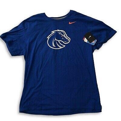 New NWT Boise State Broncos Nike Logo Size Large T-Shirt