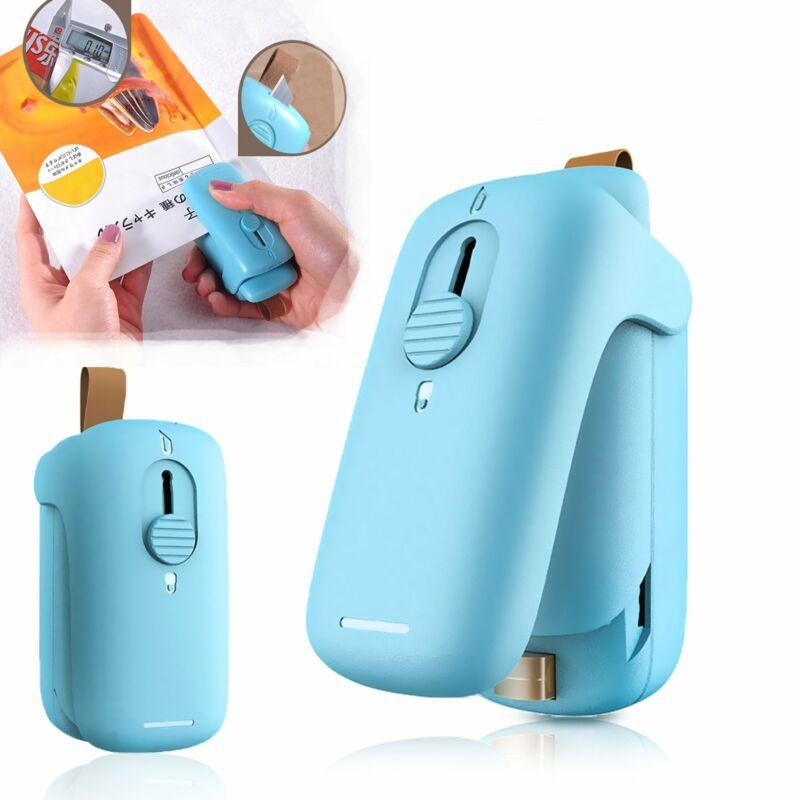 Mini Bag Sealer Sealing Machine Handheld Plastic Packing Bag Portable Cutter