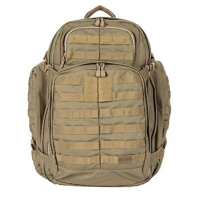 5.11 RUSH72 Tactical Military Hiking Backpack 55L MOLLE Outdoor 58602 Sandstone