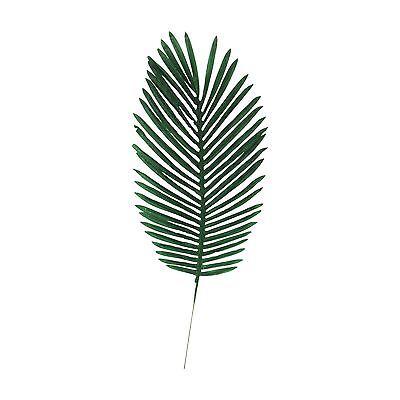 Gefälschte Palme (XL Premium Gebogene Palme Tropische Blatt Dattelpalme Seide Gefälschte Künstlich)