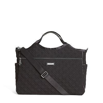 Vera Bradley Carryall Travel Bag In Classic Black