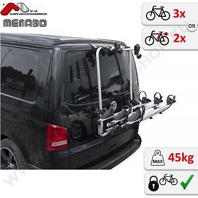 Transportín Trasero de la Bicicleta Para 3 VW Volkswagen T6 Multivan Caravelle