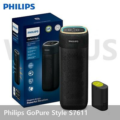 Philips GoPure Style S7611 Car Air Clean Purifier System with Diffuser Cartridge