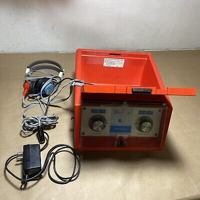 Beltone Audio Scout Audiometer System With Headset Accessories