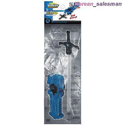 BEYBLADE BURST B-70 Sword Launcher Blue Sword Winder / Takara Tomy Kids Top Toy