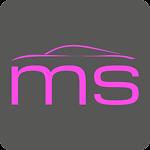MS Car Sticker