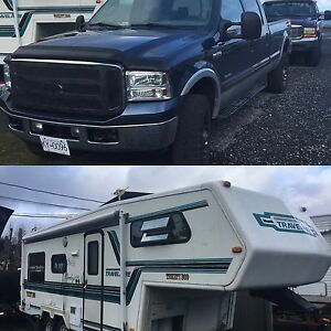 2005 Ford F-350 and 1994 Travelaire 5th wheel