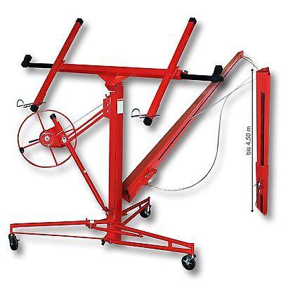 Plattenheber XXL Set 350 cm + 140 cm Paneelheber Montagehilfe Verlängerung 68 kg