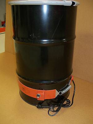 Drum Heater Metal 30 Gallon 750 Watt- Wvo Biodiesel