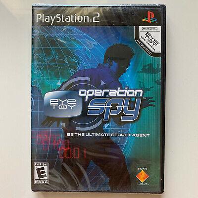 Eye Toy: Operation Spy - Playstation 2 *** BRAND NEW (Eye Toy Operation)