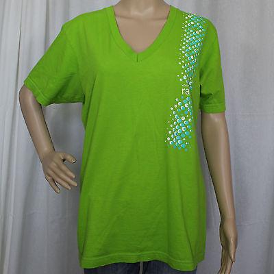 Ladies V Neck Nordstrom Rack Large Kelly Green Shirt