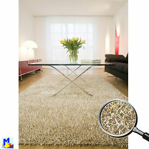 sale dekowe corado shaggy 30 beige teppich polyester. Black Bedroom Furniture Sets. Home Design Ideas