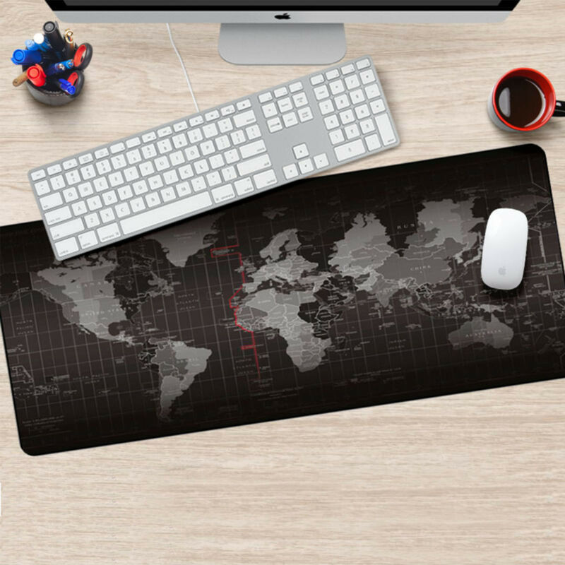 Useful office world map large cloth extended rubber gaming mouse useful office world map large cloth extended rubber gaming mouse desk mat uk gumiabroncs Image collections