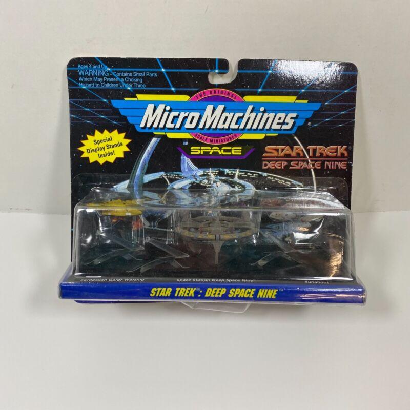 STAR TREK Deep Space Nine Micro Machines Set #5 Cardassian Station Runabout