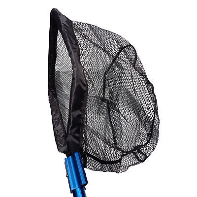 Heavy Duty Interchangeable Pond Fish Catching Utility Net, with Telescopic Pole