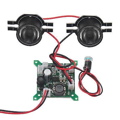3w Single (6W Infrarot 2x Single 3W Scheinwerfer IR Diode Nachtsicht Überwachungskamera)