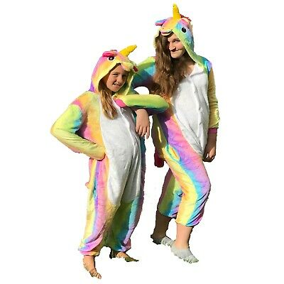 Halloween Unicorn Pajamas & Costume for Kids Sizes 7/8-14/16 | Soft and Comfy