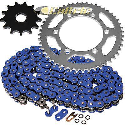 Blue O-Ring Drive Chain & Sprockets Kit for Yamaha YZ125 2002 2003 2004