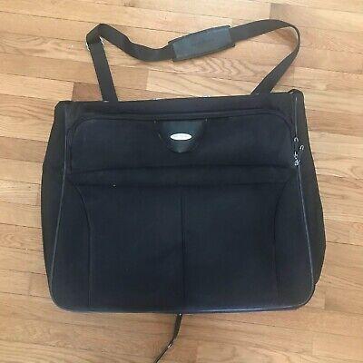 Samsonite Garment Bag Travel High-Quality Black Nylon 11 X 19 X 22 Collapsible