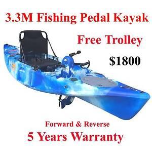 Used kayaks for sale gumtree australia free local for Used fishing kayak sale