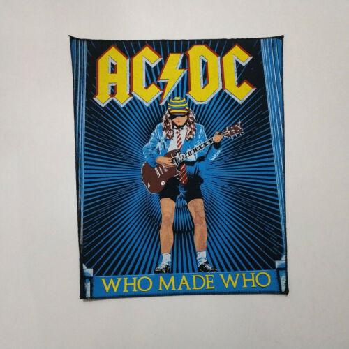Vintage    AC/DC    Unused  80s BACK PATCH