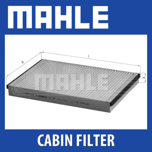 Mahle Pollen Air Filter - For Cabin Filter LA75 - Fits Vauxhall Astra 98 -