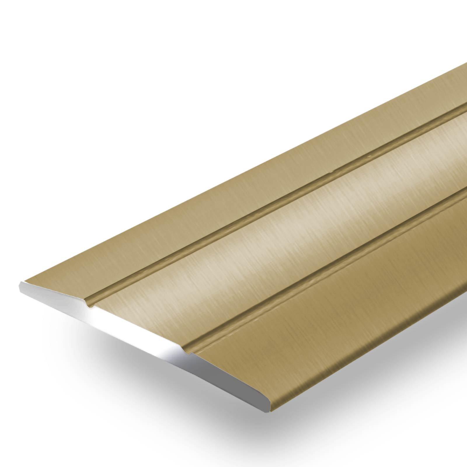 Alu Übergangsprofil Teppichschiene Schweller Laminat Parkett Profil flach 36mm