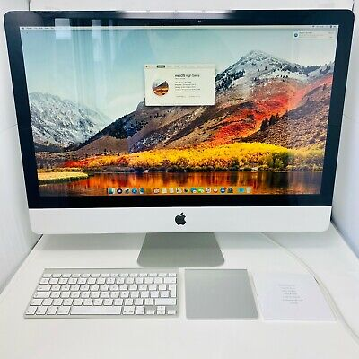 "Apple Imac 27"" Mid 2010 - 3.2 GHz i3 8 GB Wireless Keyboard Trackpad Box Used"